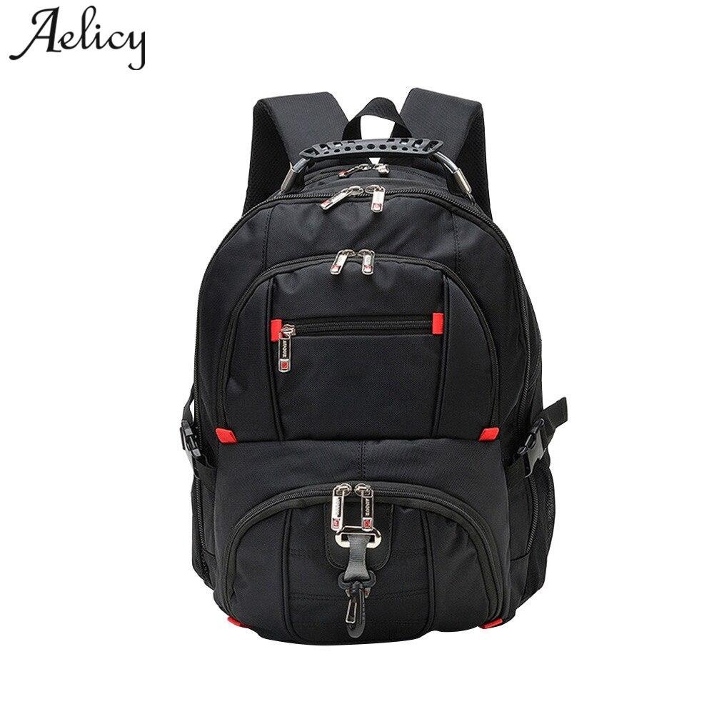 Aelicy High Quality Oxford Waterproof Laptop Backpacks Women Fashion Travel Large Capacity School bag Teenage Mochila Masculina