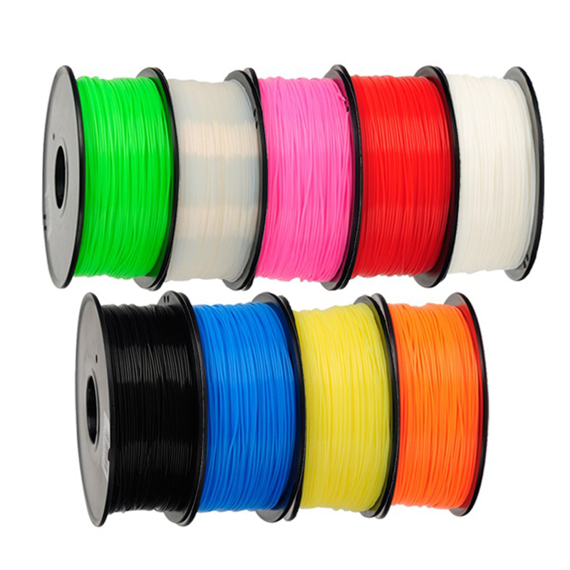 Image 3 - 5roll/lot 1kg/roll Anet 1.75mm PLA Filament 3D Printer Filament Plastic Rubber Consumables Material 4 Colors Option-in 3D Printing Materials from Computer & Office