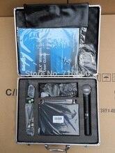 Ücretsiz kargo yüksek kalite SLX24/beta58 UHF kablosuz mikrofon, SLX24 el beta58 mikrofon sıcak satış için