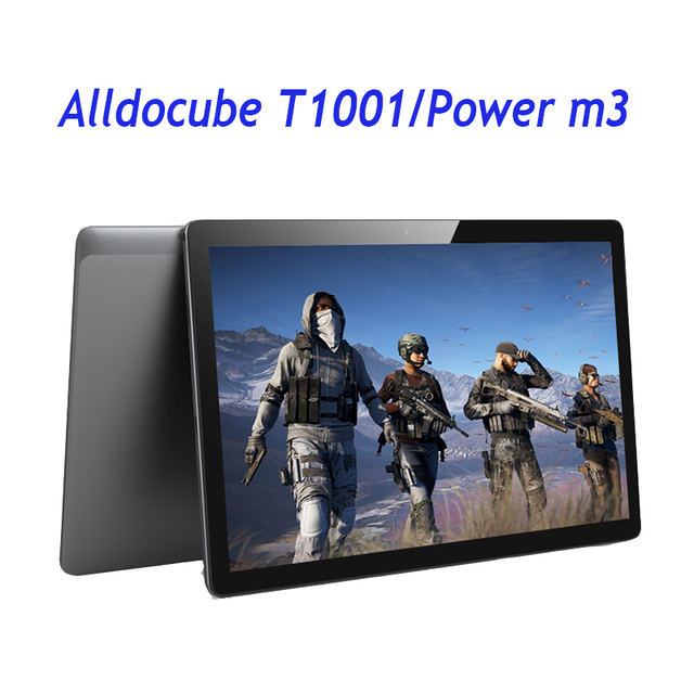 ALLDOCUBE Мощность M3/T1001 4 г телефона Tablet PC 8000 мАч Quick Charge 10,1 дюймов ips Планшеты Android 7,0 MT6753 Octa Core 2 ГБ/32 ГБ