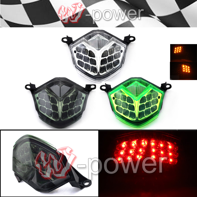 For Kawasaki ZX10R 2008-2010 ZX6R 2009-2010 Z750 / Z1000 2007-2009 Motorcycle Integrated Led Taillight + Indicators Indicators