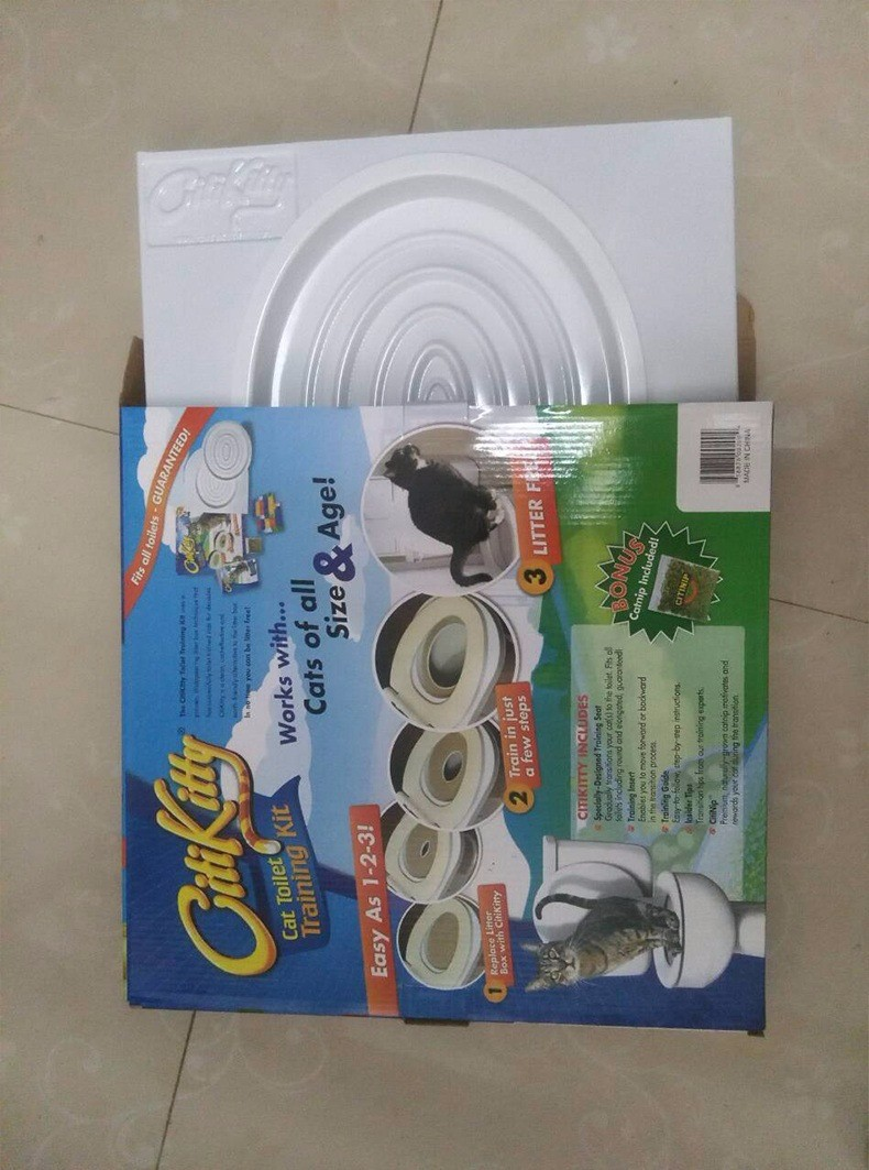 EASY TO LEARN CAT TOILET TRAINING KIT 12