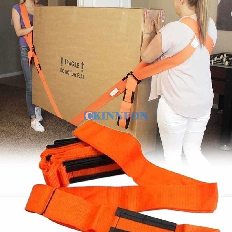 DHL 100PCS 2pcsset Furniture Moving Belt Forearm Wrist Heavy Duty Furniture Lifting Moving Belt Strap Carry Tools