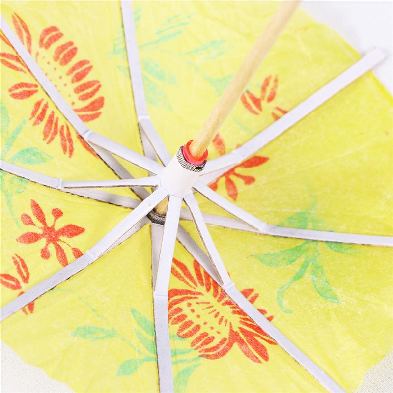 144 Pcs Cocktail Parasol Drink Umbrellas Paper Parasol Picks For Drinks Hawaiian Party And Pool Party Supplies mixed Color The Latest Fashion