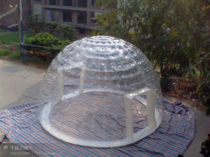 Commercial Advertising One Time Inflatable Dome Bubble Tree Tent Double Layer Inflatable Transparent Bubble Tent beauty inflatable lighting tree