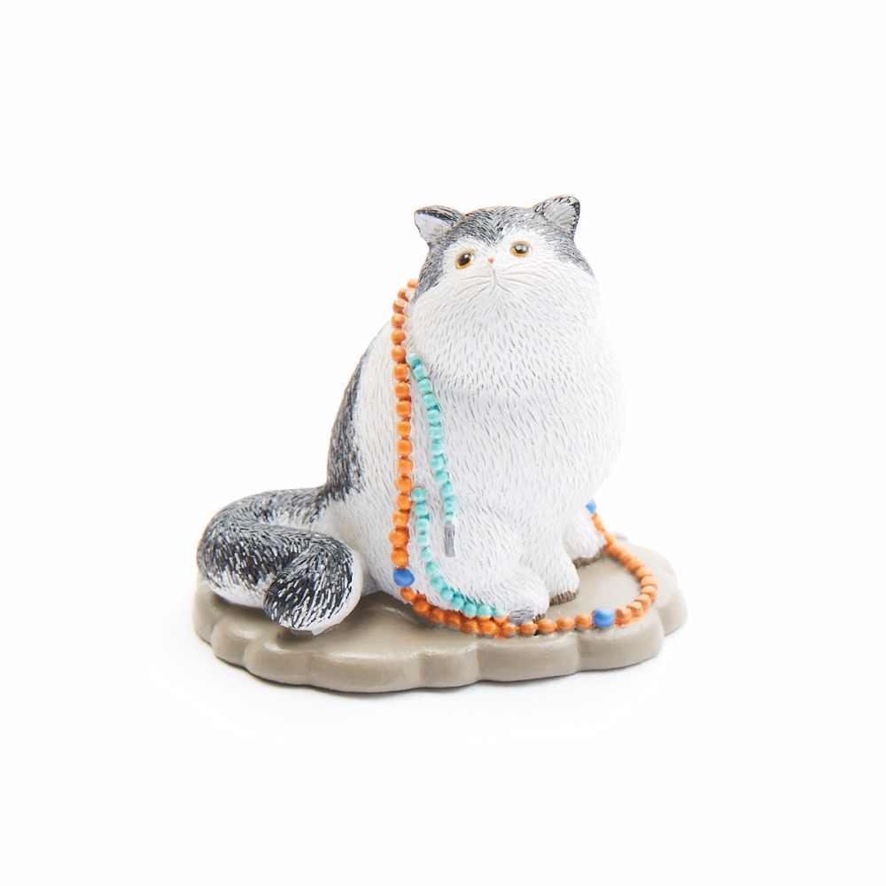 Casa De Muñecas Estilo Accesorios Con Gatos-Resina-Colección De Recuerdo