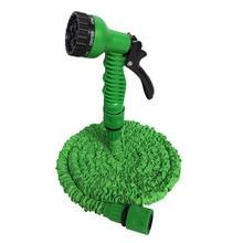 AHUYML 25-200FT Rozšiřitelná magická flexibilní zahradní hadice na vodu pro hadicové hadice pro automobilové hadice Plastové hadice k polévání pomocí stříkací pistole