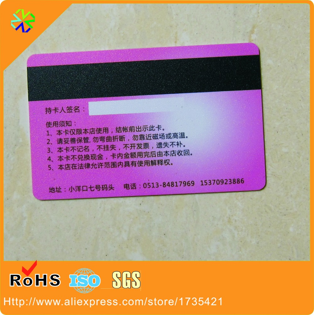 Free shipping china manufacturer customized 85554mm076mm free shipping china manufacturer customized 85554mm076mm magnetic stripe plastic business cards pvc vip cards gift cards in business cards from reheart Gallery