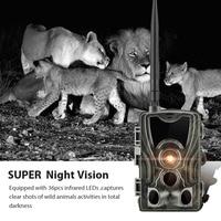 2G MMS SMTP Hunting Trail Camera Wildlife Cameras Cellular Mobile Wireless Surveillance HC801M 16MP 1080P Night Vision Tracking