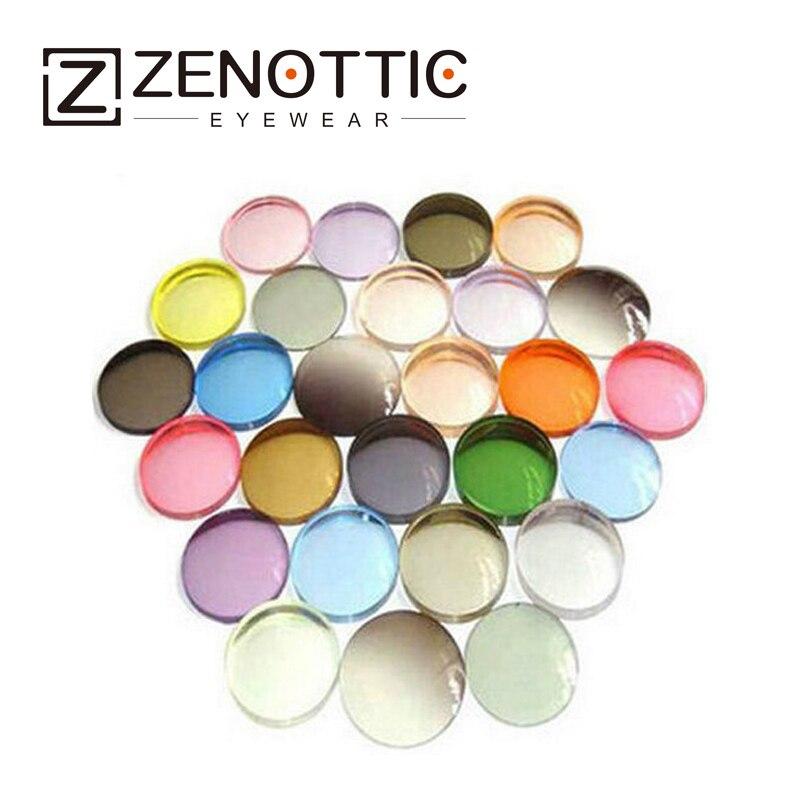 Index1.56 Thin Cr-39 Color Tinted Prescription  Lenses Impact Resistance/reading Anti-scratch