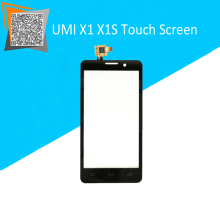 NEW Original For UMI X1 X1S Touch Screen Digitizer Sensors Outer Glass Black Replacement Parts Hot Selling