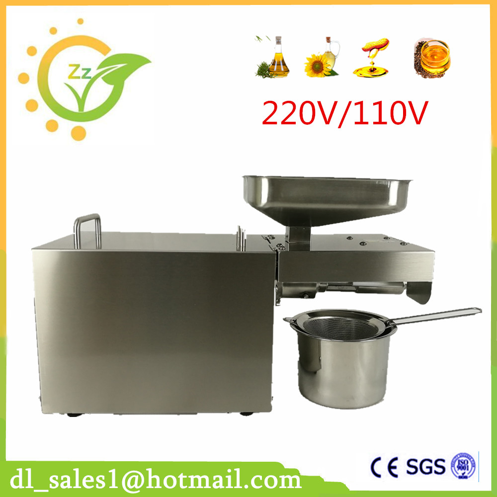Newest Cold Oil Pressing Machine Oil Pressure Home Use Oil Pressing Machine Peanut Oil Press Machine