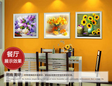 & Flower arranging 5D DIY diamond Painting flowers Cross Stitch diamond embroidery mosaic diamonds wall stickers home decor vase