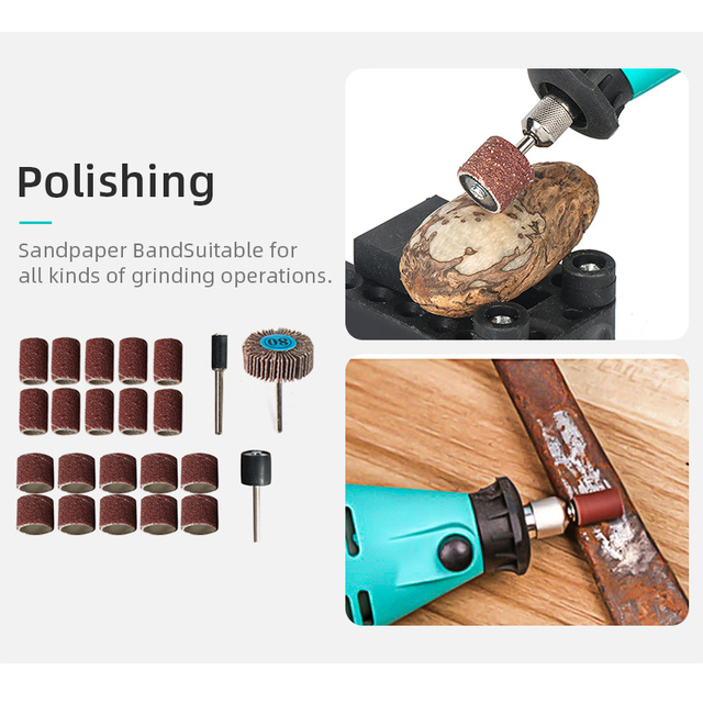 Tungfull mini electric drill accessories drill bits woodworking tools Variable Speed Electric Rotary Tool  Mini Drill Grinder 3
