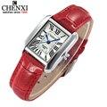 Assistir Mulheres Elegantes Retro Relógios Das Mulheres Moda de Luxo Relógio de Quartzo Relógio Feminino Relógios de Pulso Relogio feminino das Mulheres de Couro