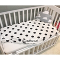 (Приспособленный лист 1 шт.) детская кровать чехол для матраса 1 шт. 100% хлопок 130x70 см детская кровать лист для девочки мальчики кроватки