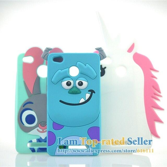 for xiaomi redmi 4a case cute judy sulley unicorn minions cartoon