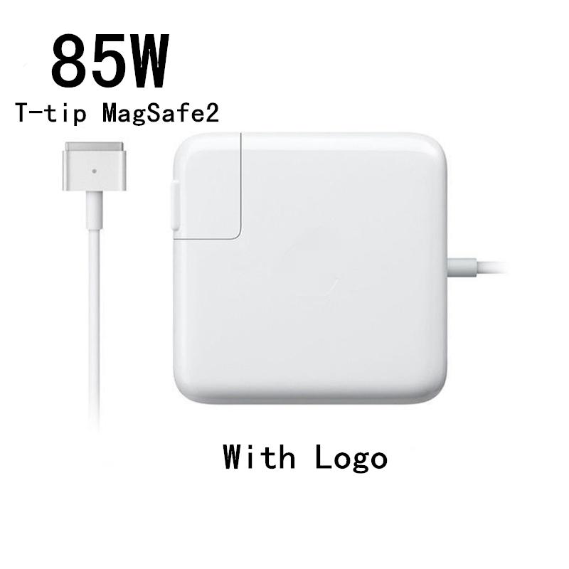 """Prix pour Hot! haute Qualité 85 W T-Pointe Magsafe2 Magsafe 2 Adaptateur Chargeur (Avec Logo) Pour MacBook Pro Retina 15 """"A1398 A1424."""