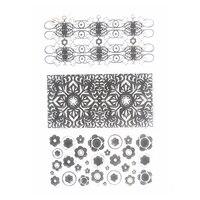 figure flowers lace seals Transparent Clear Stamp DIY Silicone Seals Scrapbooking Card Photo Album decor TM-085