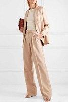 Jacket+Pants Women Business Suits Office Uniform Evening Wedding Formal Ladies Trouser Suit