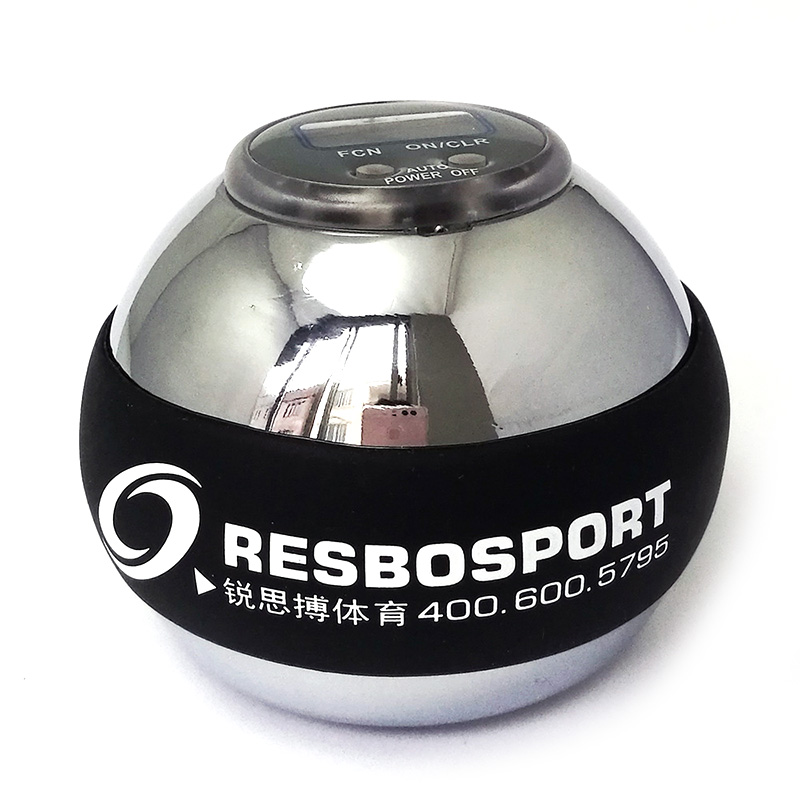 Poignet puissance balle Gyroscope balle métal bras Muscle Relax exercice auto-démarrage gymnastique main exercice Gyroscope balle compteur compteur