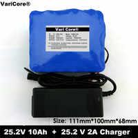 24 V 10 Ah 6S5P 18650 Batterie lithium-batterie 24 v Elektrische Fahrrad moped/elektrische/lithium-ionen-batterie pack + 25,4 V 2A Ladegerät
