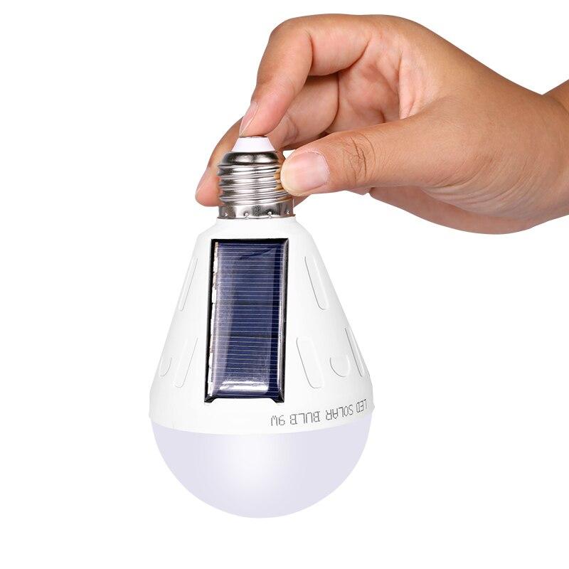 Lâmpadas Solares painel solar usado 5-6hours Leads : 18 Pcs And 25 Pcs Leads