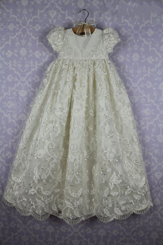 ᐊ2016 Lolita Baby Infant Christening Dress Baptism Gown Lace ...