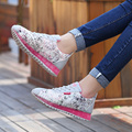 2017 Spring Summer Women Casual Shoes Woman Mesh Breathable Network Soft Casual Shoes Wild Flats Mujer Zapatos Zapatillas
