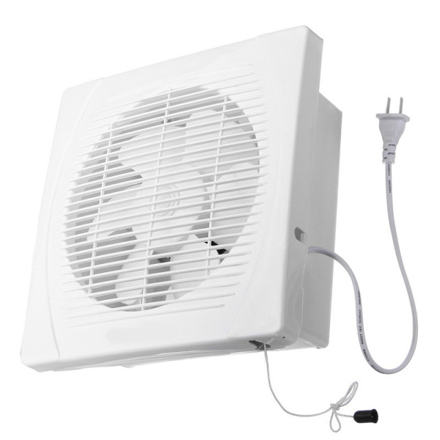 Fan Hole Size 240x240mm 8inch 30W Exhaust Ventilation Blower Window Wall Kitchen Bathroom Toilet 220V