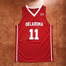 a487eb917082 2018 New Trae Young Oklahoma Sooners College Throwback Basketball Jersey  Stitched(China)
