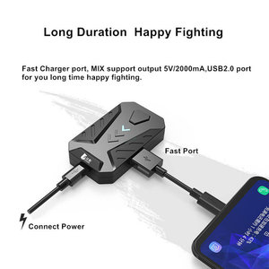 Image 3 - PUBG Game Converter MIX Keyboard Mouse Converter Bluetooth Station Stand Docking for iphone android Gamepad Joystick Controller