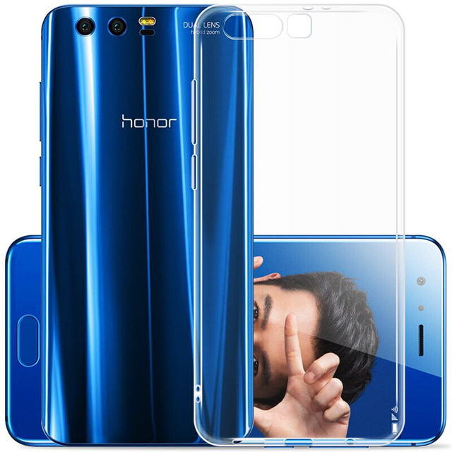 for Huawei Honor 9 /Honor 9 Premium Case Slim Crystal Clear Transparent Soft TPU Cover Silicone Case Mobile Phone Skin Shell Bag