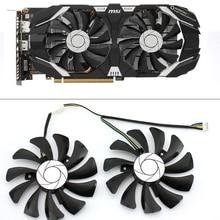 4 контактный вентилятор охлаждения для ПК, 85 мм, для замены для MSI GTX 1060 OC 6G GTX 960, P106, графическая карта, вентилятор охлаждения GPU