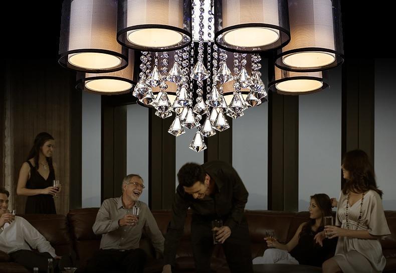 Plafoniere Vetro Moderne : Plafoniera led soffitto di vetro luci cristallo a filo montaggio