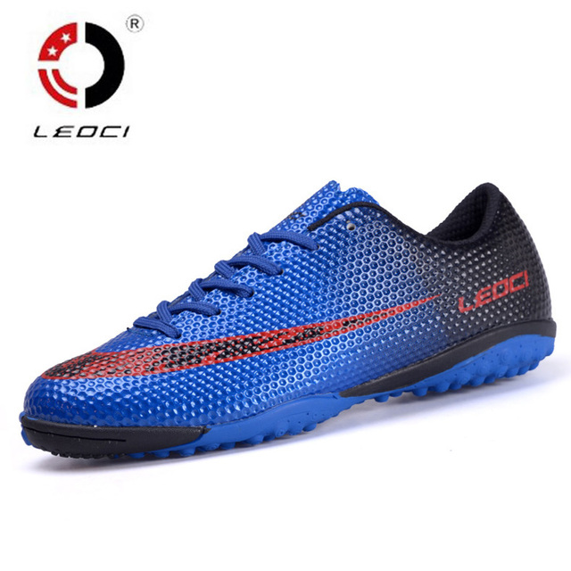 7a4e39a685 ... Size 33-44 Men Boy Brand Outdoor Soccer Shoes Football Soccer Shoes  Hard Court Trainer ...