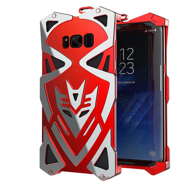imágenes para Nuevo Diseño Para Samsung s8 Zimon THOR Spiderman Cubierta de Metal De Aluminio Al Aire Libre A Prueba de Golpes antidetonantes Caso Para Samsung s8 Plus