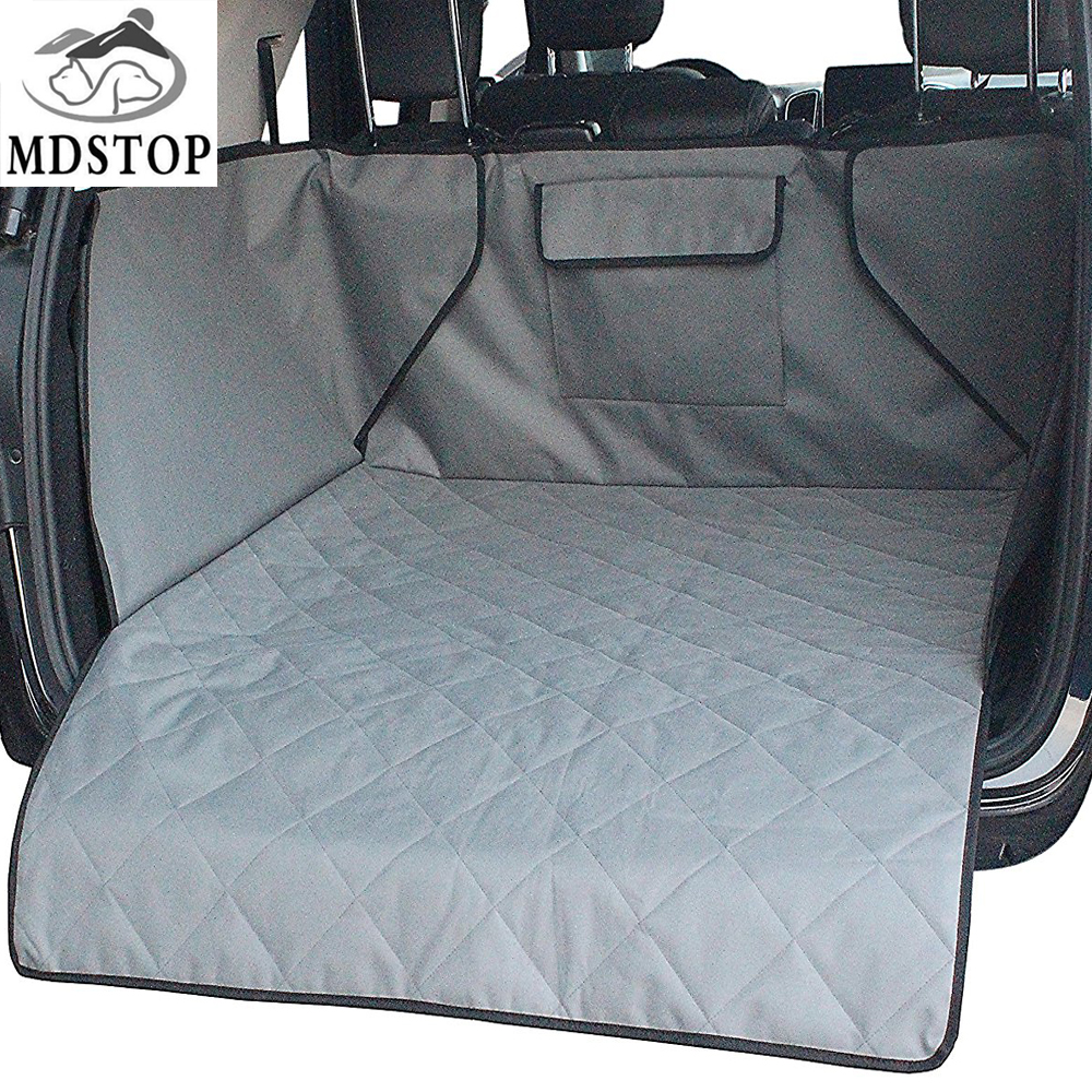 Waterproof Trunk Mat Dog Pets Cargo Liner Cover Non Slip Car Trunk Protector Back Seat Cover