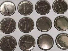 15pcs/lot New For Panasonic CR2477 3V CR 2477 High Performance High Temperature Resistant Button Coin Battery Cell Batteries батарейки таблетки matsushita panasonic cr2477 3v
