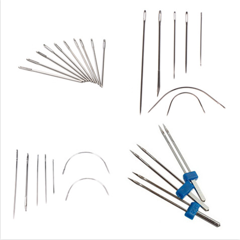 3 Pcs Bent Sewing Needle for Repair Canvas Upholstery Leather Sofa Carpet