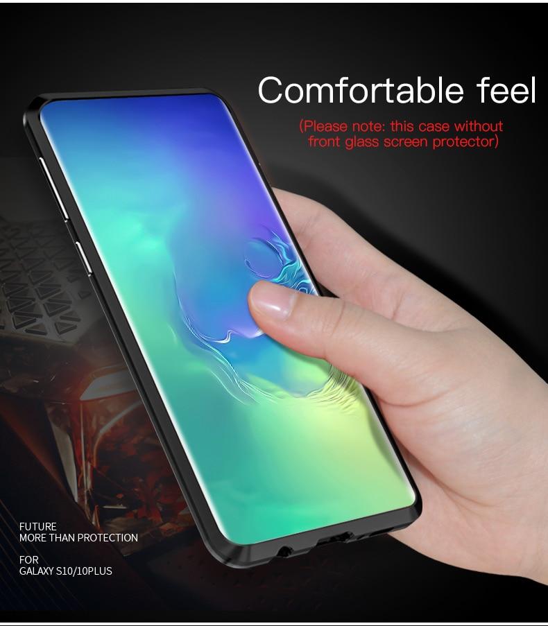 Samsung S10 Plus S10e magnet glass Case (5)