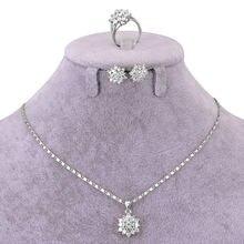Комплект африканских ювелирных изделий ожерелье подвеска кольцо