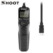 SHOOT RR-90 LCD Timer Remote Control Shutter Release for Fuji Fujifilm X-T1 XT-20 XT20 X-M1 X-A1 X-E2 X-Q1 XM1 XE2 Digital Camer wireless shutter release remote control for fuji fujifilm x pro2 x a10 x t10 x t20 x e2 x e2s x e3 x m1 x a1 a2 a3 xq1 x100f x70