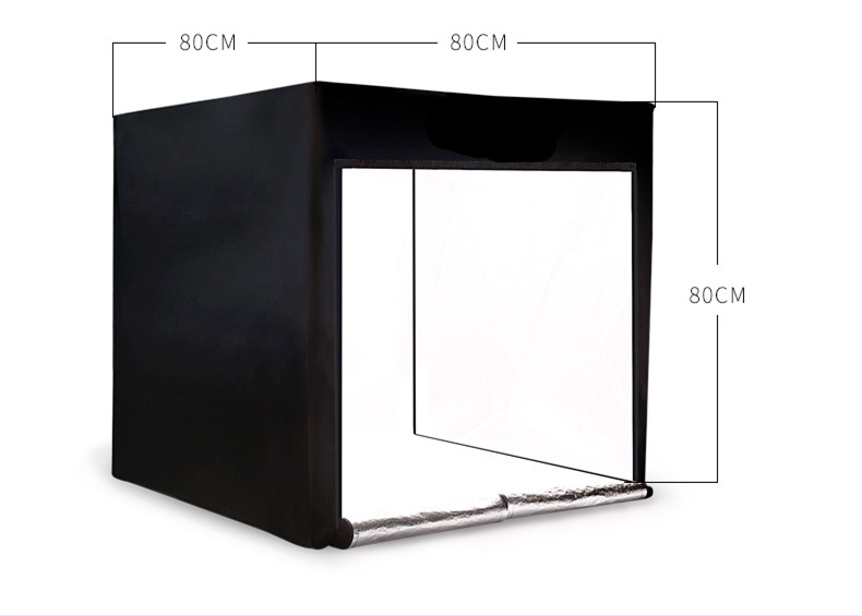 <font><b>LED</b></font> <font><b>80cm</b></font> softbox CD50 image