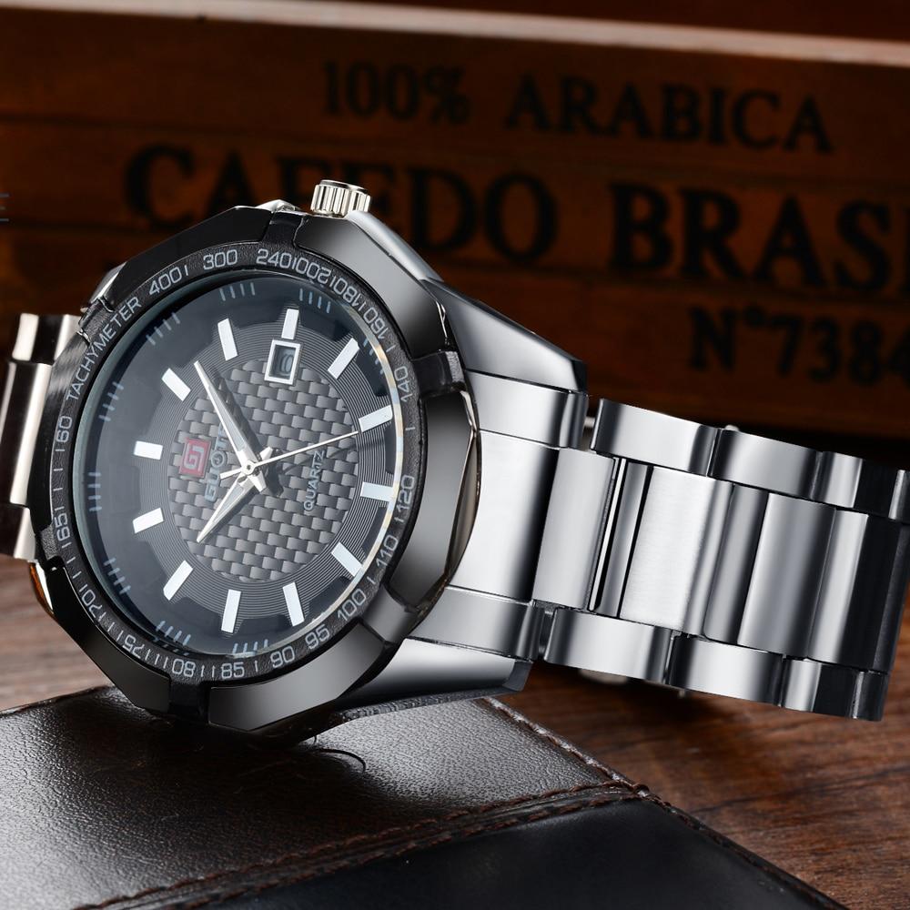 2016 Wodoodporny kalendarz Moda Sport Men Watch Luxury Brand Pełna - Męskie zegarki - Zdjęcie 5