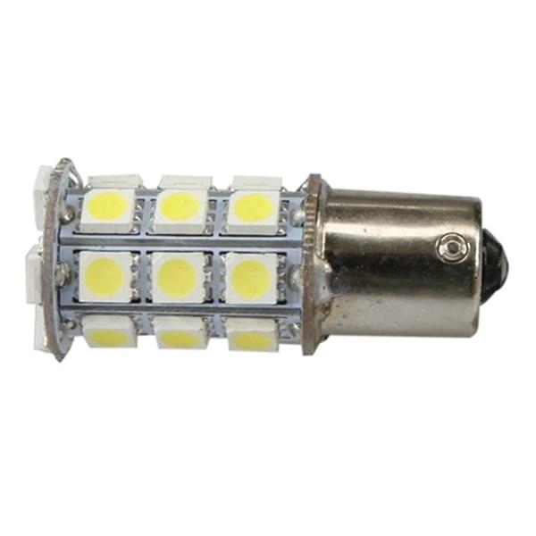 10X Warm White 27 SMD LED 1156 1141 1003 RV Camper Trailer Interior LED Light Bulbs