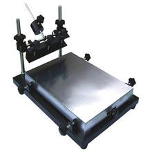 Низкая цена SMT производственная линия Средний трафарет паяльной пасты принтер машина QH-Y2
