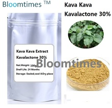 Natural supplement Kava kava root Extract Kavalactone 30% 100g