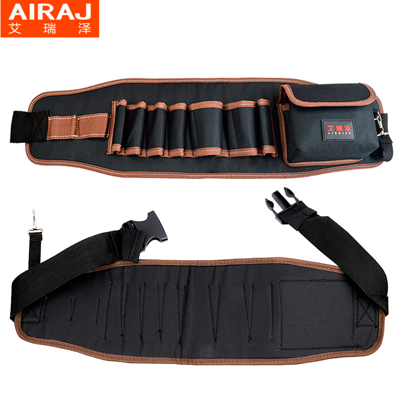 AIRAJ Hardware Bolsa de almacenamiento de herramientas de cintura con - Almacenamiento de herramientas - foto 5