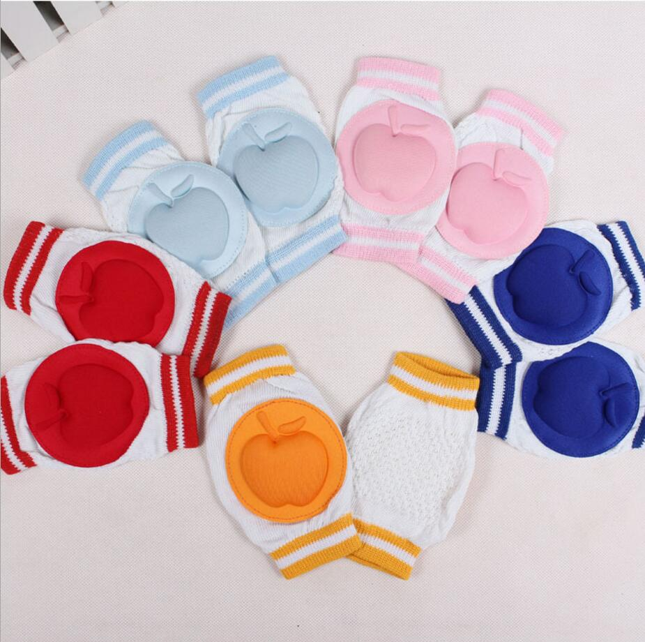 New Baby Crawling Knee Pads Protector Cotton Safety Crawling Elbow Cushion Knee Pads for Infants Toddlers